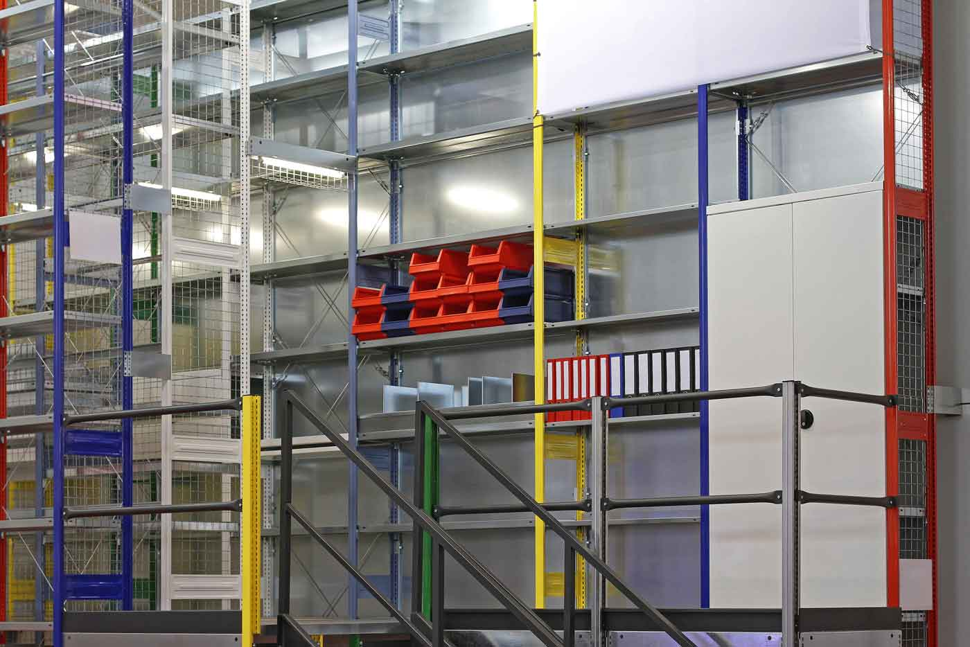 Mezzanine Flooring, Office Partitioning, Racking & Shelving